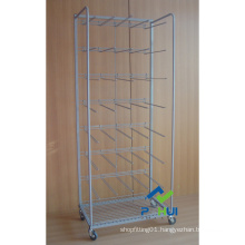 Mobile Floor Metal Lamps Display Stand (PHY312)