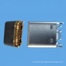 Männlich C Typ SMT Stecker USB 3.1 für Computer, Telefon