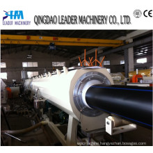 HDPE Extruding Machinery 75-200mm HDPE Water Pipe Extrusion Line