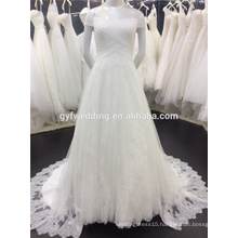 Elegant Design Off The Shoulder Lace Wedding Dresses Vestidos De Noiva Sexy Wedding Bridal Gowns A009