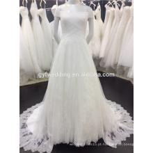 Design Elegante Off The Shoulder Lace Vestidos de casamento Vestidos De Noiva Vestidos de noiva Sexy A009