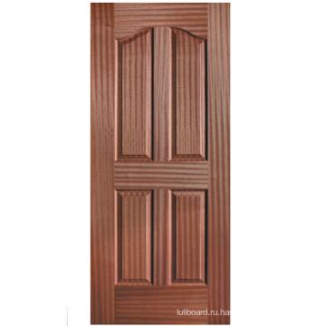 Кожи двери с естественной Черного ореха