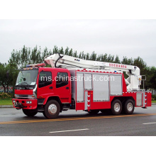 PENYELESAIAN ISUZU DAN BREAK TRUCK FIRE