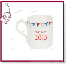 10oz Sublimation Bone China Balmoral Mug with Custom Logo