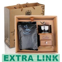 Embalaje de papel de alta calidad del proveedor de China del diseño personalizado del café de la amoladora
