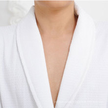 100% Cotton Fancy Waffle Bathrobe (DPFT8041)