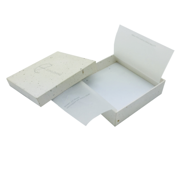 White simple electronics paper box