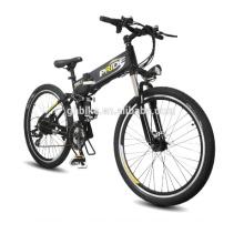 26inch High Quality Lithium Battery Folding Electric Bike Smart Electric Mountain Bike