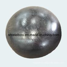 Carbono acero extremo tapa de tuberías