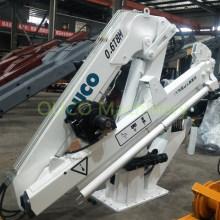 Marine Electric Hydraulic Fully Foldable Telescopic Cranes