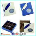 White Chocolate Box Karton mit klarer Fensterpartition