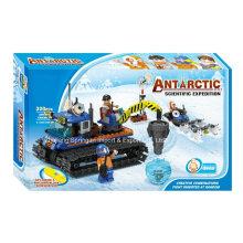 Boutique Baustein Spielzeug-Antarktis Wissenschaftliche Expedition 07 mit 3 Personen