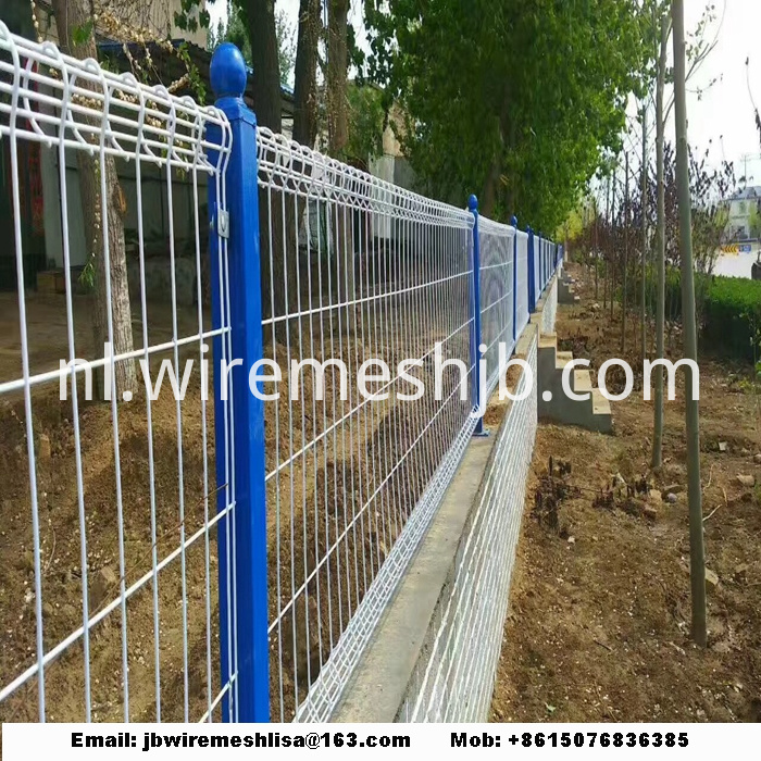 Double Ring Welded Wire Mesh Fence