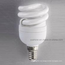8W lámpara espiral completa con CE ERP