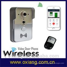 Factory WiFi Video Intercom Digital Timbre impermeable Movimiento de visión nocturna Detección de teléfono de la puerta