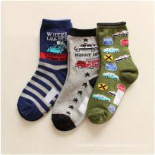 Miúdos das crianças dos desenhos animados meias de algodão moda (ka032)