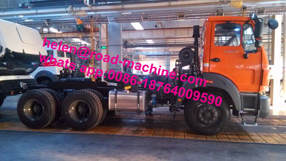 Heavy Duty 30-50 Tons LHD Beiben قلابة شاحنة