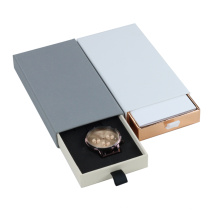 Promotional custom luxury drawer watch box for Packaging
