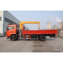 Hot Sale for Truck With Crane 6 ton truck with crane supply to St. Helena Manufacturers