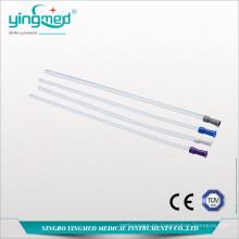 Tubo rectal de PVC de un solo uso