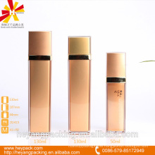50/130/130ml AS pink airless luxury square bottle
