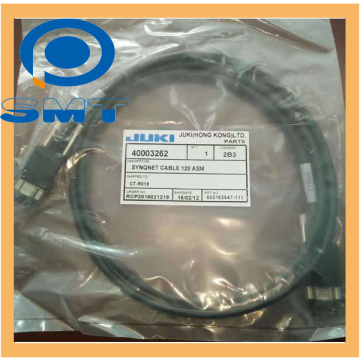 JUKI SMT جزء 40003262 SYNQNET XPM CABLE