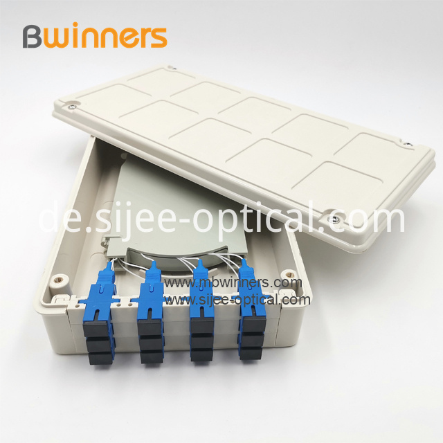 12 Port Fiber Optic Terminal Box
