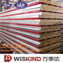 High Quality Wiskind Rock Wool Sandwich Panel with ISO9001