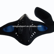 neoprene motocross half face mask sports training mask