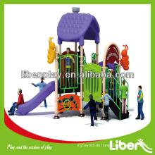 Early Child Series Outdoor Plastik Spielplatz Ausrüstung LE.MN.001 Kleine Spielplatz Modular Play System