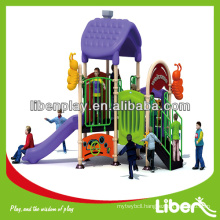Early Child Series outdoor plastic playground equipment LE.MN.001 Small Playground Modular Play System
