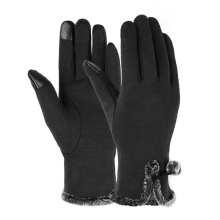 Custom pencetakan Logo Touch sensor Screen Winter Gloves