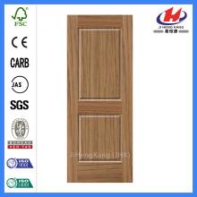 JHK-S01HDF Teak Wooden Door Skin Front Door Designs