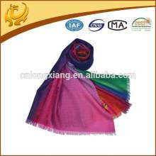 Echarpe à tête arabe Écharpe à laine 100% imprimée à l'eau numérique Design neuf