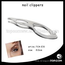 Kosmetische Augenbrauenpinzette / Edelstahlpinzette im modischen Design