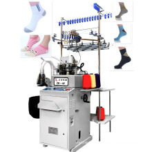 automatic teery and plain sock making machine