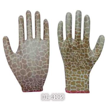Mädchen Jugend Stretch Nitril Beschichtung Handschuh