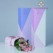 Rectangle+rigid+cardboard+paper+gift+flower+box