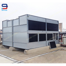 Équipement de refroidissement de la CAHT de tube de cuivre / tour de refroidissement fermée par superdyma pour l'eau