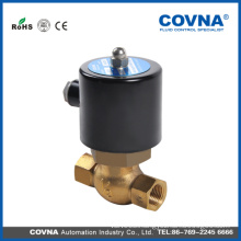 AC220V 24V US Series 2/2 Way Brass High Temperature Control Valve