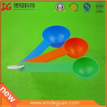 Manufactory Colorful Nutrition Powder 3 in 1 Spoon Plastic