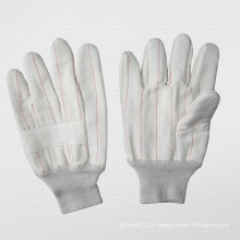 Heat Resistance Cotton Work Glove with 2 Layers