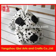 Atacado pelúcia brinquedo cão em forma de caixa de tecido capa de tecido de pelúcia