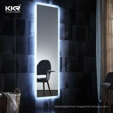 Modern hotel rectangle dressing smart led full length mirror for hair salon