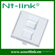 French style rj45 faceplate
