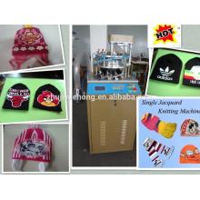 Круглая шапка и вязальная машина для шарфов
