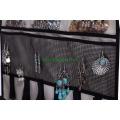 Дверная настенная подвеска для ювелирных изделий Scroll Storage для колье, серег, аксессуаров, бежевая