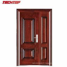 TPS-037SMA Nouvelle porte en acier de sécurité de conception faite dans les portes en métal de la Chine