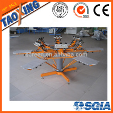 screen printing machine with micro registration