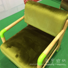 Pelo corto y terciopelo de poliéster tejido de textiles para el hogar